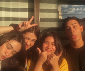 Diego Loyzaga spends time with half sisters